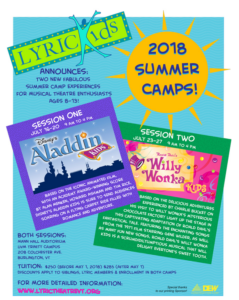 2018 LyricKids Summer Camp