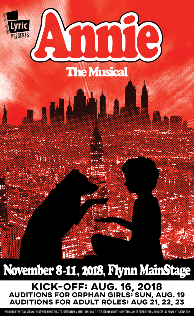 Annie: The Musical Lyric Theatre Company Vermont